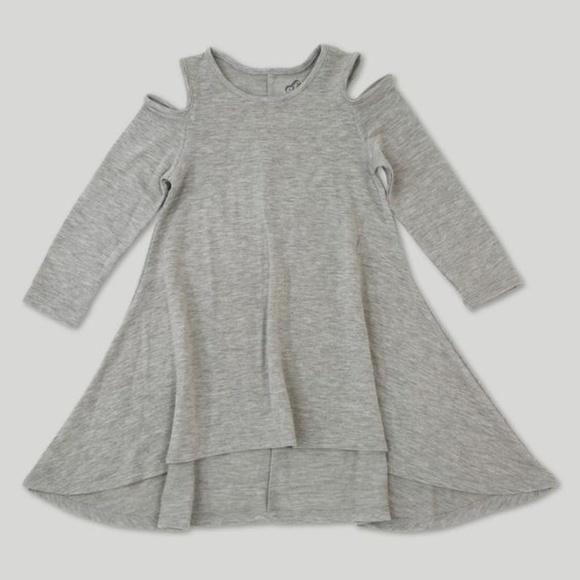 fa6e0bc17 Afton Street Dresses | New Gray Cold Shoulder Dress Nwt | Poshmark